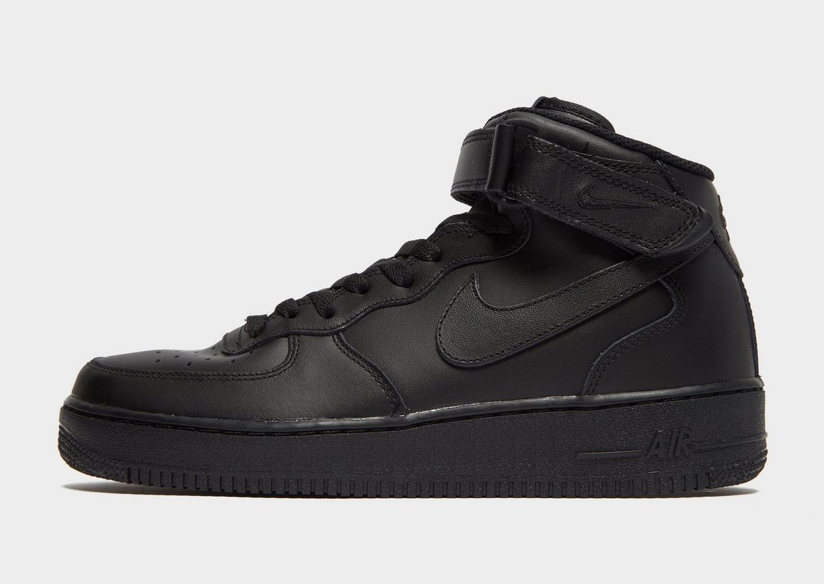 nike air force 1 mid nero